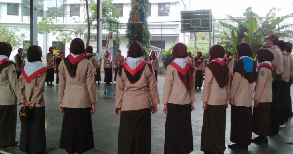 Kursus Mahir Dasar (KMD) Pembina Pramuka bagi para mahasiswa UMK (Foto Istimewa/Nusantaranews)