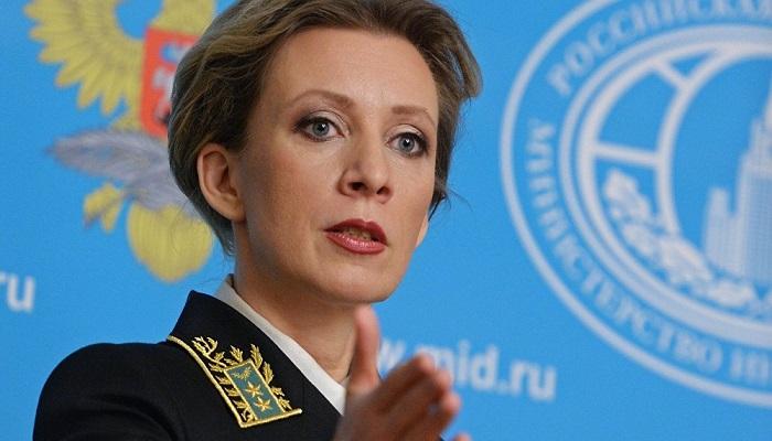 Juru bicara Kementerian Luar Negeri Rusia, Maria Zakharova. (Foto: Sputnik/Valeriy Melnikov)