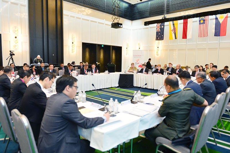 Menhan se Asean Gelar Pertemuan di Australia (Foto Dok. Kemenhan)