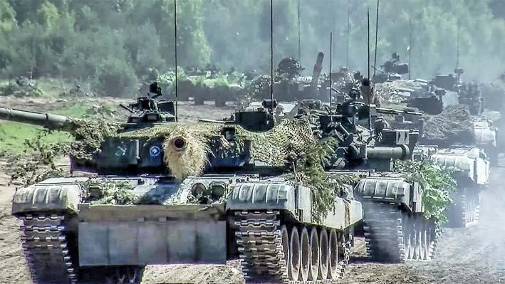 Manuver Tank NATO di Polandia