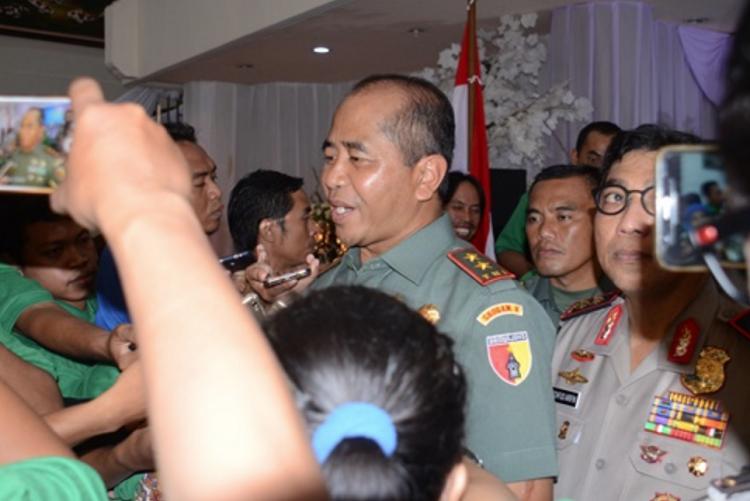 Pangdam Brawijaya, Arief Rahman (Foto Istimewa/Nusantaranews)