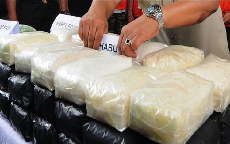 Penyelundupan Narkoba (Ilustrasi)