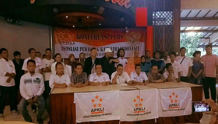 Konferensi pers dan rapat koordinasi nasional APKLI di Aula Paradise Resto DIY, Minggu (25/2). (Foto: Istimewa)