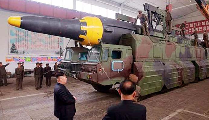Rudal Balistik Nuklir Korea Utara