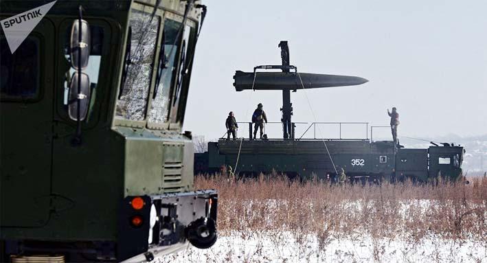 Rudal Iskander Rusia di Kaliningrad/Foto Sputnik