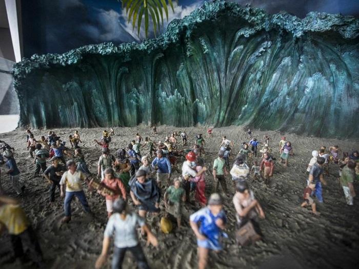 Salah satu Koleksi di Museum Tsunami Aceh. Foto: ntnews.com.au