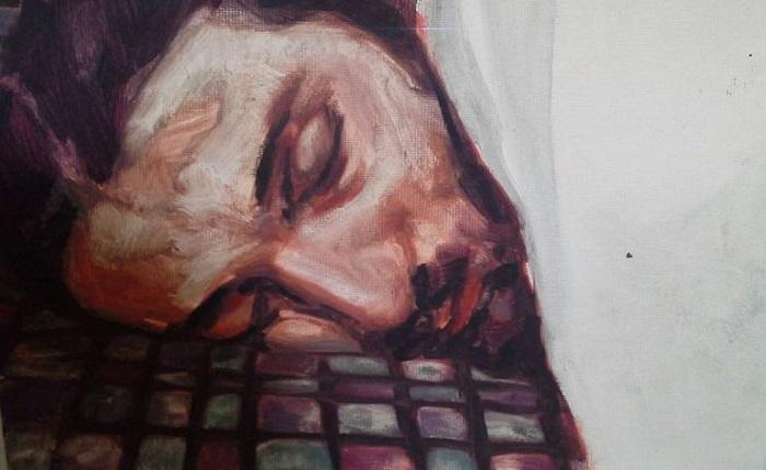 Sleeping Men. Foto/Lukisan: Saatchi Art Artist Didem Ünlü