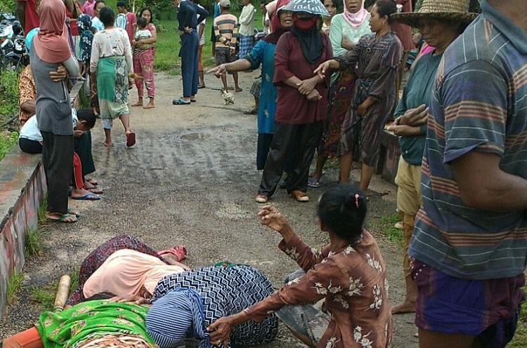 Temuan Mayat di Sumenep (Foto Mahdi/Nusantaranews)