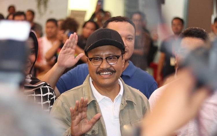 Wakil Gubernur Jawa Timur (Foto Tri Wahyudi/Nusantaranews)