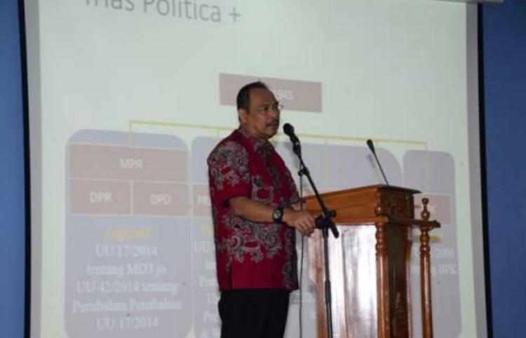 Wakil Ketua BPK Bahrullah Akbar (Foto Istimewa)