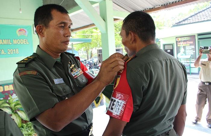 Kasdim 0812 Lamongan Mayor Inf Suko Edi Winarto mewakili Dandim Letkol Arh Sukma Yudha Wibawa saat membuka kegiatan Pendayagunaan Koramil Model tahun anggaran 2018 yang berlangsung Koramil 0812/10 Babat, Selasa (20/3).