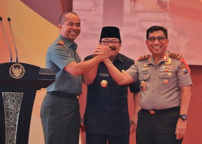Forkopimda Jawa Timur Kompak