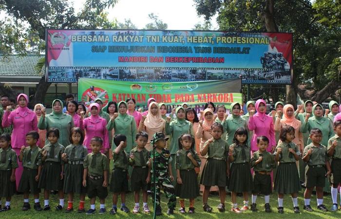 Kabupaten Kediri, Jawa Timur mengikrarkan diri anti terhadap narkoba. (Foto: Istimewa)