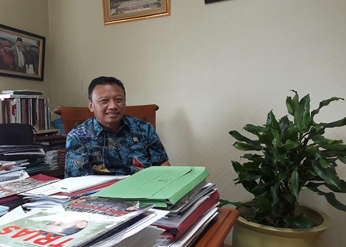 Presiden DPP K Sarbumusi sekaligus Anggota Komisi I DPR RI, Syaiful Bahri Anshori. (Foto: Ucok Al Ayubbi/NusantaraNews)