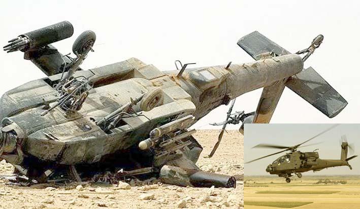 AH-64 Apache Rontok
