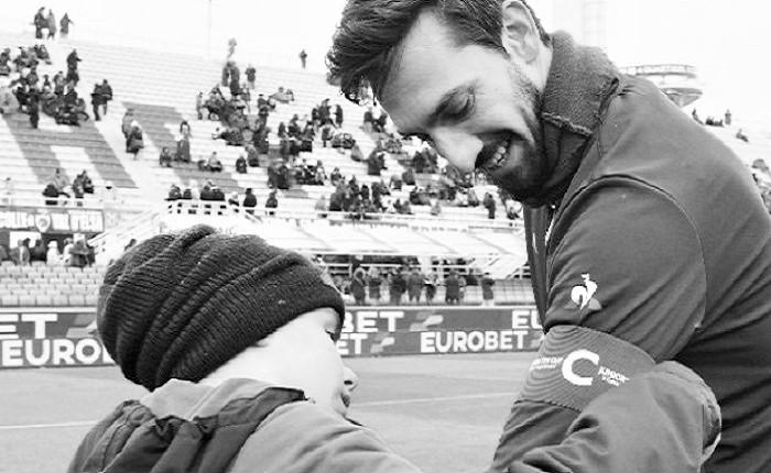 Kapten Fiorentina, Davide Astori. (Foto: AFP)