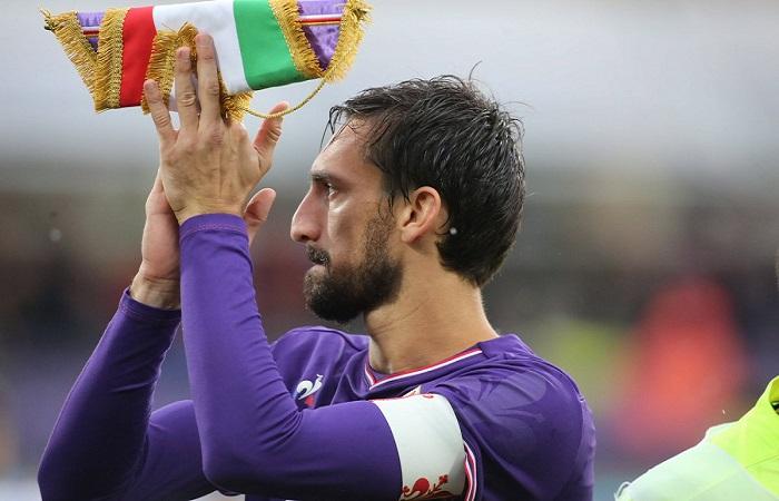Kapten Fiorentina, Davide Astori meninggal dunia, Minggu (4/3/2018). (Foto: Dok. ACF Fiorentina/Twitter)