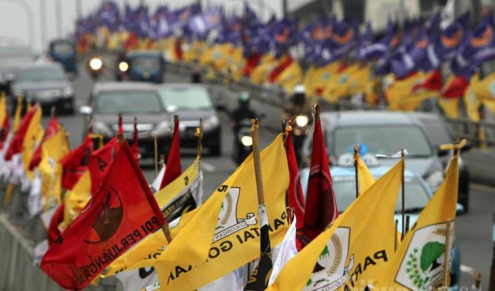 Bendera Partai Politik (Foto Istimewa)