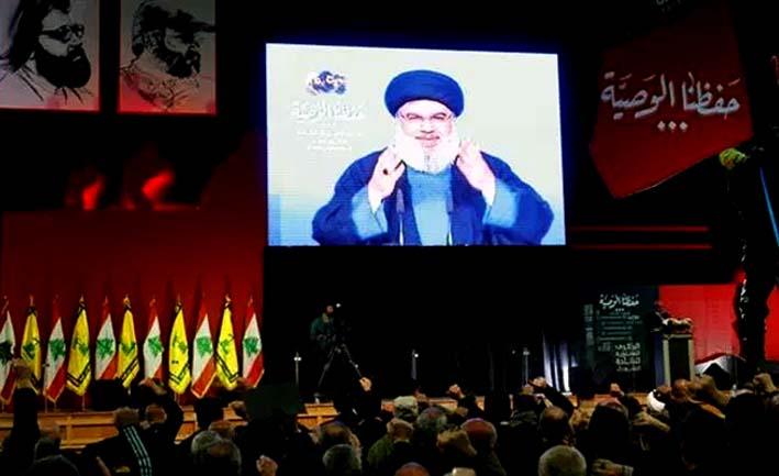 Pidato Pemimpin Hizbullah Sayyid Hasan Nasrallah