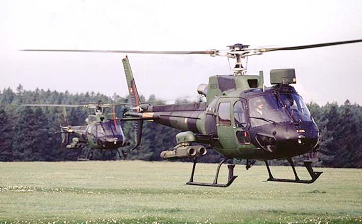 Ilustrasi Helikopter Serang AS-550 Fennec TNI AD