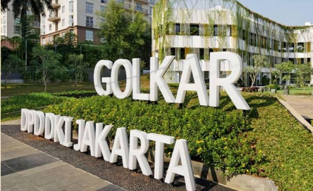 Kantor Dewan Pimpinan Pusat (DPD) Partai Golkar DKI Jakarta. (FOTO: NUSANTARTANEWS.CO/Cahyo)