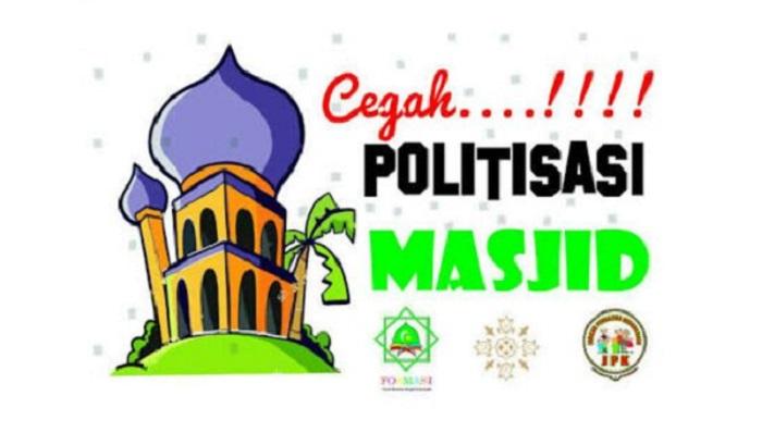 Cegah Politisasi Masjid. (Foto/Ilustrasi: NUSANTARANEWS.CO)
