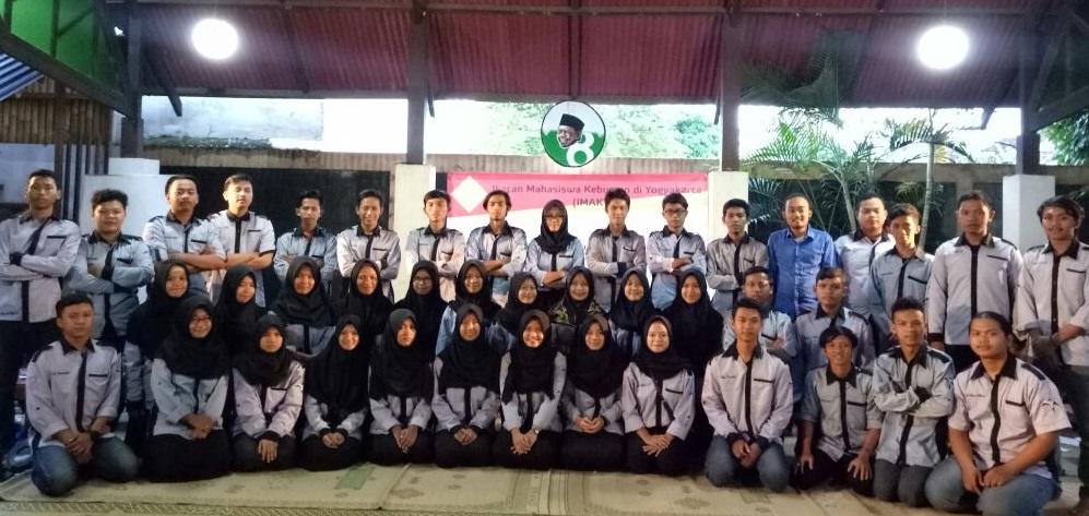 Ikatan Mahasiswa Kebumen di Yogyakarta (IMAKTA) menggelar Latihan Dasar Kepemimpinan (LDK) dan Pelantikan Pengurus yang digelar pada Minggu (26/3), di Gedung LKiS (Lembaga Kajian Islam dan Sosial) Sorowajan, Banguntapan, Bantul, Yogyakarta. (FOTO: NUSANTARANEWS.CO/Oky)