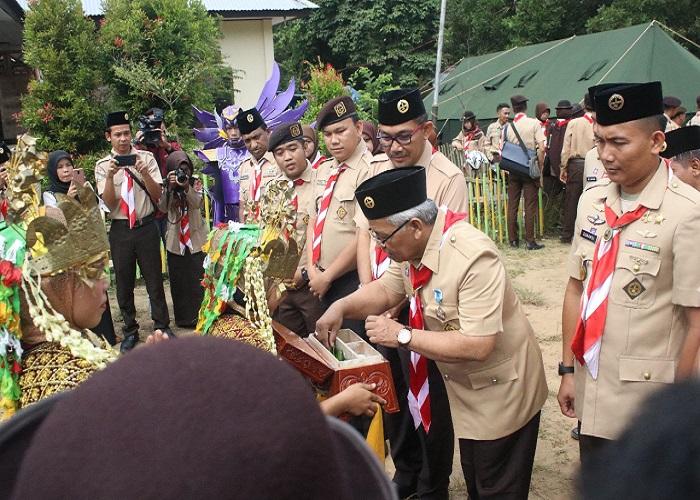 Perkemahan Wirakarya PWN PTK) XIV bagi pramuka pada Perguruan Tinggi Keagamaan akan diselenggarakan pada tanggal 3-10 Mei 2018 di UIN Sultan Syarif Kasim Riau. (Foto: Istimewa)