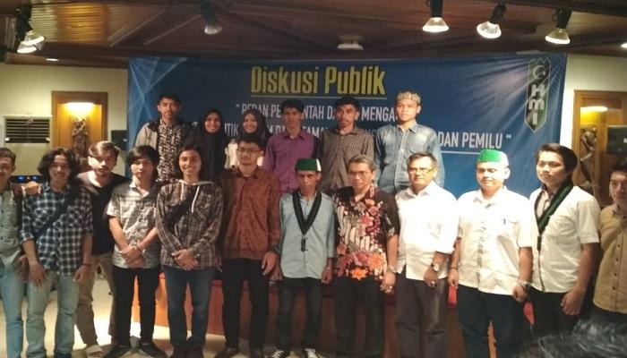 Himpunan Mahasiswa Islam (HMI) Jakarta Raya. (Foto: Iskandar Dinata/Istimewa)