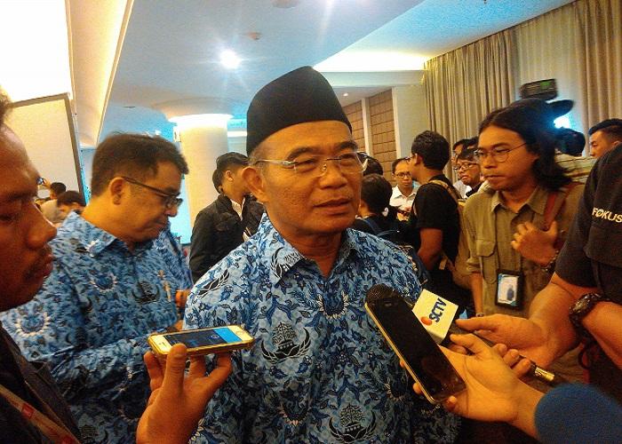 Menteri Pendidikan dan Kebudayaan (Mendikbud) Muhadjir Effendy. (Foto: Dok. NusantaraNews)