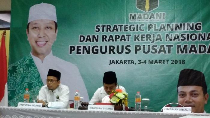Sekretaris Umum PP Madani Syarifuddin (Ending). (FOTO: NUSANTARANEWS.CO/Achmad S)