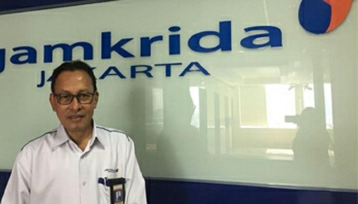 Direktur Utama PT Jamkrida Jakarta, Chusnul Ma'arif. (Foto: Dok. NusantaraNews)