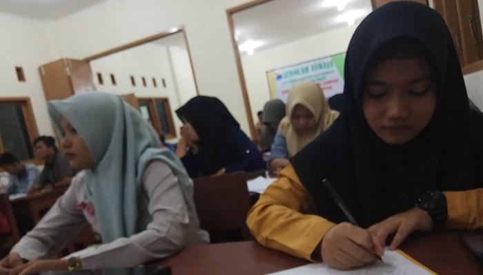 Sekolah Aswaja se- Bandarlampung di Pondok Pesantren Al Muttaqin, kemiling, Bandar Lampung pada Jumat-Minggu (23-25/03/2018). (FOTO; Riski Firmanto)
