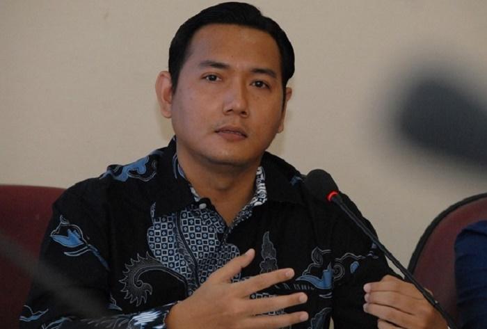 Komisiner KPI Pusat Bidang Kelembagaan, Ubaidillah (Foto Riyadi/Nusantaranews.co)