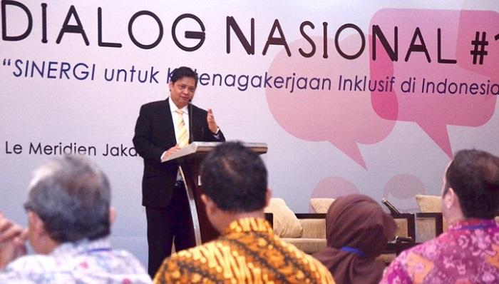 Menteri Perindustrian Airlangga Hartarto. (FOTO: NNC/Humas Kemenperin)