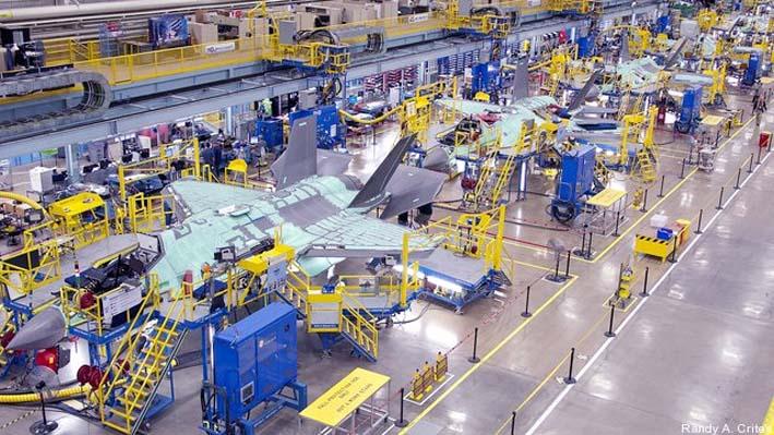 Produksi F-35 Lockheed Martin di Amerika Serikat