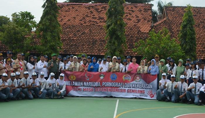 Rangkul Pelajar, Tolak Peredaran Narkotika (Foto Istimewa/Nusantaranews.co)