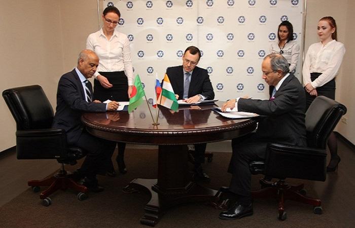 Rusia, Bangladesh dan India menandatangani Nota Kesepahaman (MoU) trilateral untuk membangun proyek konstruksi Pembangkit Listrik Tenaga Nuklir (PLTN) di Rooppur, Bangladesh.