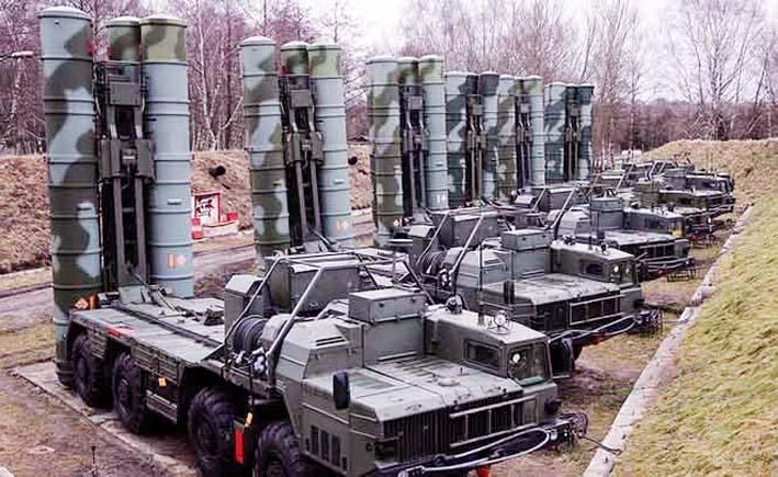 Sistem Pertahahan Rudal S-400 Rusia