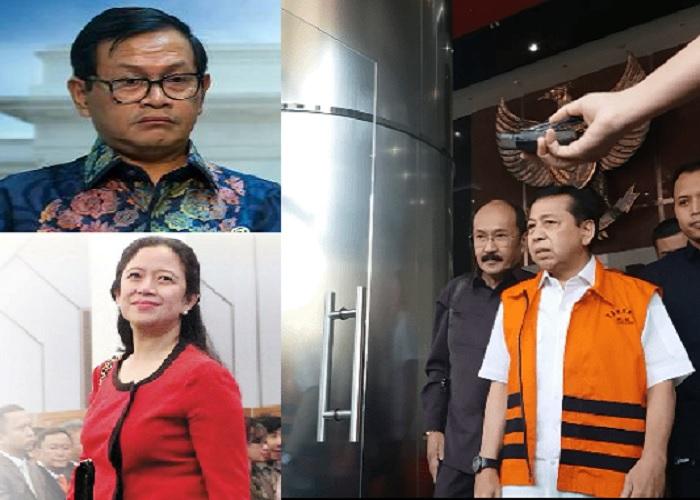 Kegaduhan nyanyian Setya Novanto tentang keterlibatan Puan Maharani dan Pramono Anung dalam skandal korupsi e-KTP. (Foto: Ilustrasi)