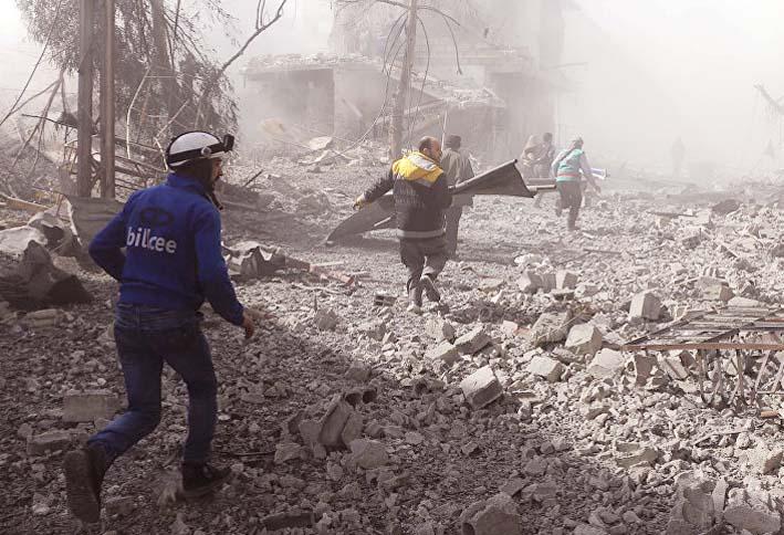 Situasi di Ghouta Timur