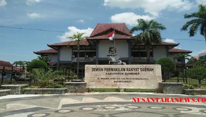 Gedung DPRD Kabupaten Sumenep, Madura, Jawa Timur. (Foto: Mahdi Alhabib/NusantaraNews)