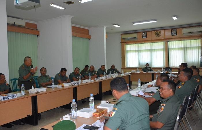Persiapan Kontingen Pekan Olahraga Angkatan Darat (PORAD) Kodam V Brawijaya. (Foto: Istimewa)