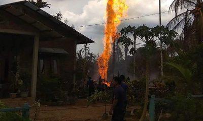 10 Orang Tewas Akibat Kebakaran Pengeboran Minyak Mentah di Aceh