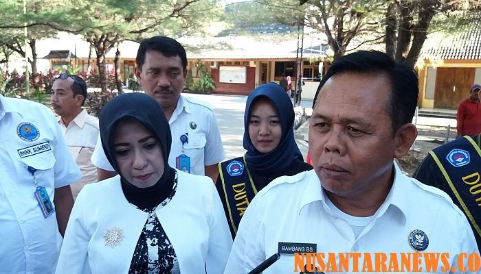 Kepala BNNP Jawa Timur Brigjen Polisi Bambang Budi Santoso saat berada di Sumenep Madura, Kamis (5/4/2018).