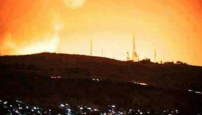 Suriah dibombardir Amerika Serikat, Inggris dan Perancis. (Foto: Iran Corner)
