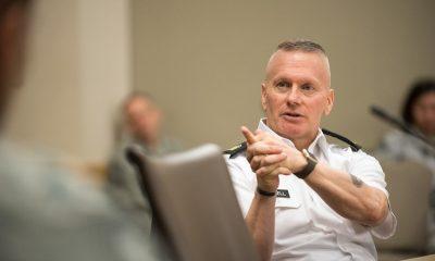 Komandan Angkatan Darat Sersan Mayor John W Troxell (Foto Nusantaranews.co)