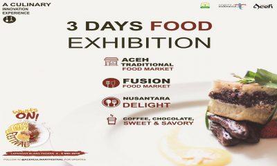 Aceh Gelar Event Internasional Bertajuk Aceh Culinary Festival 2018