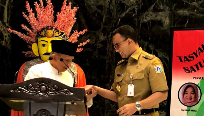 Gubernur Anies Amini Ramalan Amien Rais. (FOTO: NUSANTARANEWS.CO)
