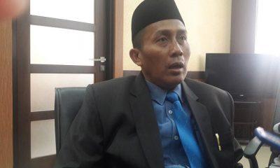 Anggota DPRD Jawa Timur Husnul Aqib mendesak pemerintah provinsi Jatim membuat jalur alternatif lain pasca ambruknya jembatan Cincin Lama Widan Lamongan. (Foto: Setya/NusantaraNews)